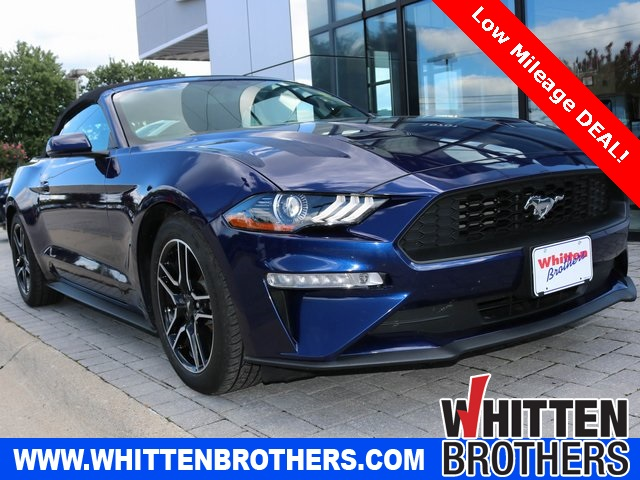Used 2018 Ford Mustang Ecoboost For Sale In Independence Mo Vin 1fatp8uh6j5167769