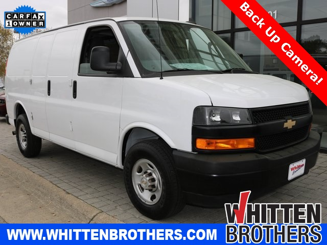 Pre Owned 2018 Chevrolet Express 2500 Work Van 3d Cargo Van In