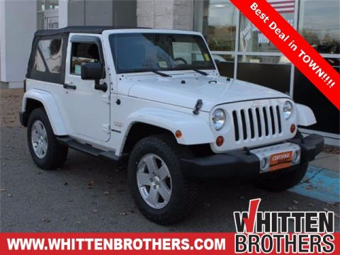 Pre-Owned 2012 Jeep Wrangler Sahara 4WD