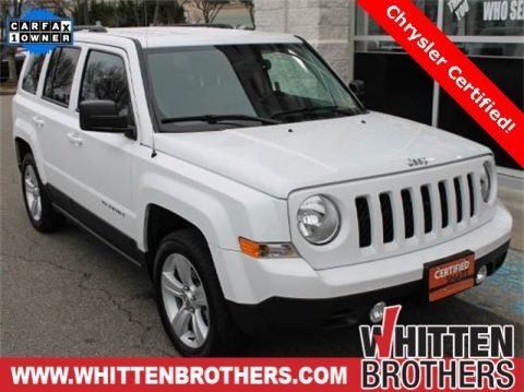 Pre-Owned 2017 Jeep Patriot Latitude FWD 4D Sport Utility