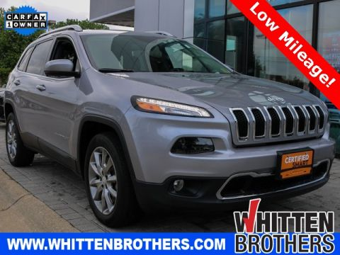 Pre-Owned 2018 Jeep Cherokee Limited FWD 4D Sport Utility
