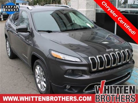 Pre-Owned 2015 Jeep Cherokee Limited FWD 4D Sport Utility