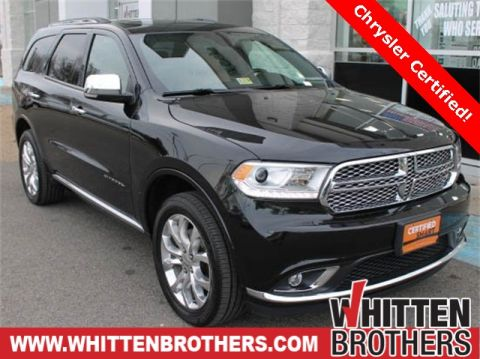 Pre-Owned 2016 Dodge Durango Citadel With Navigation & AWD