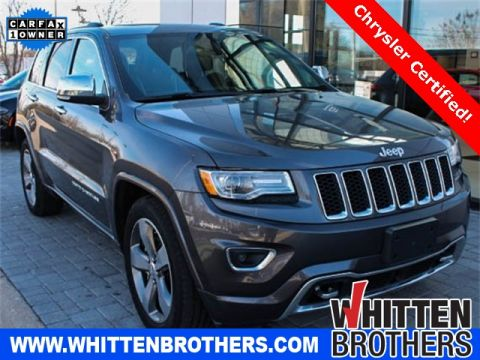 Pre-Owned 2015 Jeep Grand Cherokee Overland With Navigation & 4WD