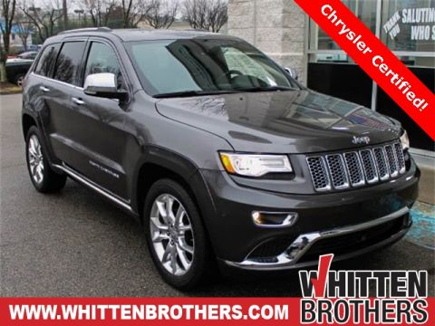 Pre-Owned 2015 Jeep Grand Cherokee Summit With Navigation & 4WD
