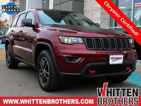 Pre-Owned 2018 Jeep Grand Cherokee Trailhawk With Navigation & 4WD