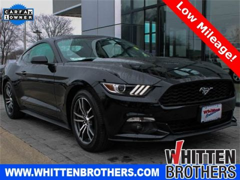 Pre-Owned 2017 Ford Mustang EcoBoost RWD 2D Coupe