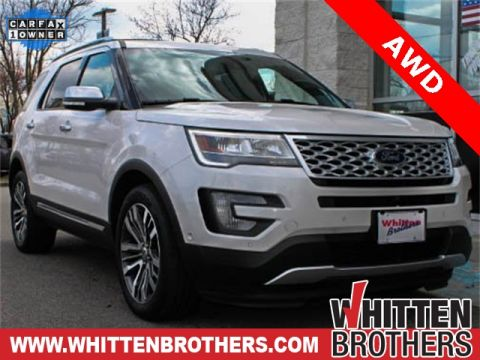 Pre-Owned 2016 Ford Explorer Platinum With Navigation & AWD
