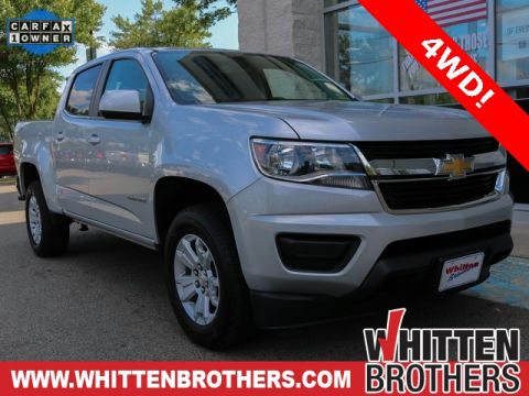 Pre-Owned 2018 Chevrolet Colorado LT