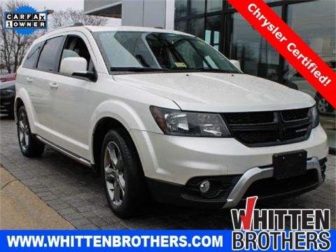 Pre-Owned 2016 Dodge Journey Crossroad FWD 4D Sport Utility
