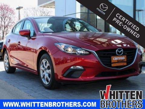 Certified Pre-Owned 2015 Mazda3 i Sport FWD 4D Sedan
