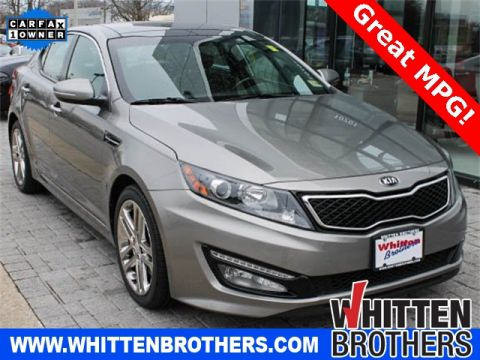 Pre-Owned 2013 Kia Optima SXL FWD 4D Sedan