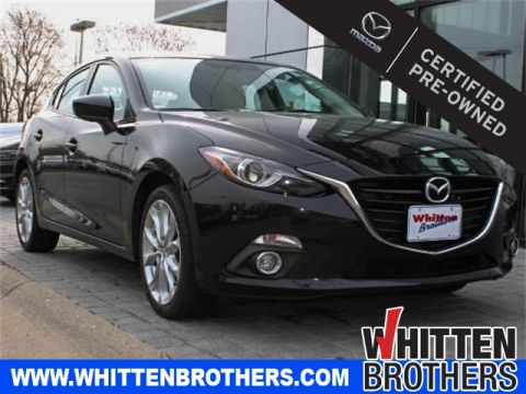 Certified Pre-Owned 2015 Mazda3 s Grand Touring With Navigation