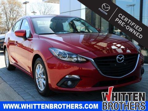 Certified Pre-Owned 2015 Mazda3 i Touring FWD 4D Sedan
