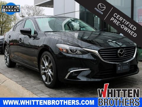 Certified Pre-Owned 2017 Mazda6 Grand Touring With Navigation