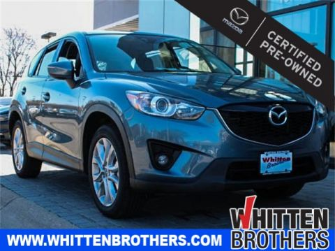 Certified Pre-Owned 2015 Mazda CX-5 Grand Touring FWD 4D Sport Utility