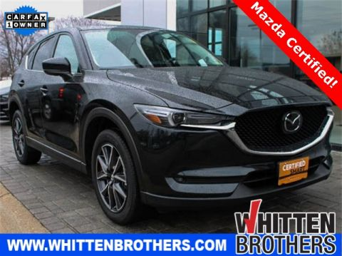 Certified Pre-Owned 2017 Mazda CX-5 Grand Touring With Navigation